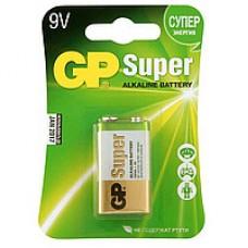 Батарейка GP Super Alkaline 9V 1604A-5UE1, 6F22