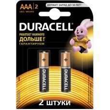 Батарейка Duracell LR03 MN2400  1x2шт. відривна (плакат 2х6)